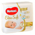Подгузники Huggies Elite Soft 2,  3-6 кг, 27 шт.