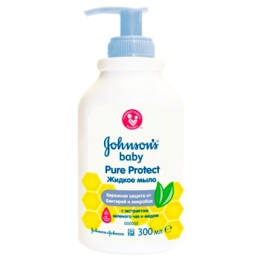 Жидкое мыло для рук Johnson's Baby Pure protect, 300 мл.
