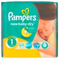 Подгузники Pampers New Baby newborn 2-5 кг, 27 шт.