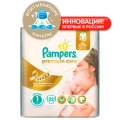 Подгузники Pampers Premium Care (1) NB 2-5кг, 22 шт.