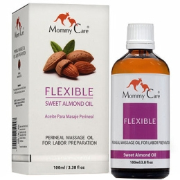 Масло для массажа промежности перед родами Mommy Care Flexible Oil